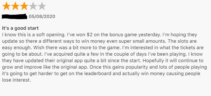 Press Play Slots user review.