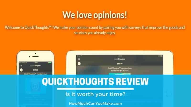 QuickThoughts review