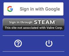 Gain.gg only allows Steam or Google logins.