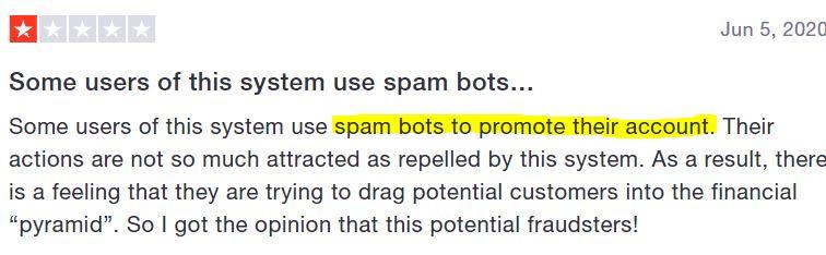 Honeygain referral spam.