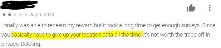 SurveyMonkey location privacy.